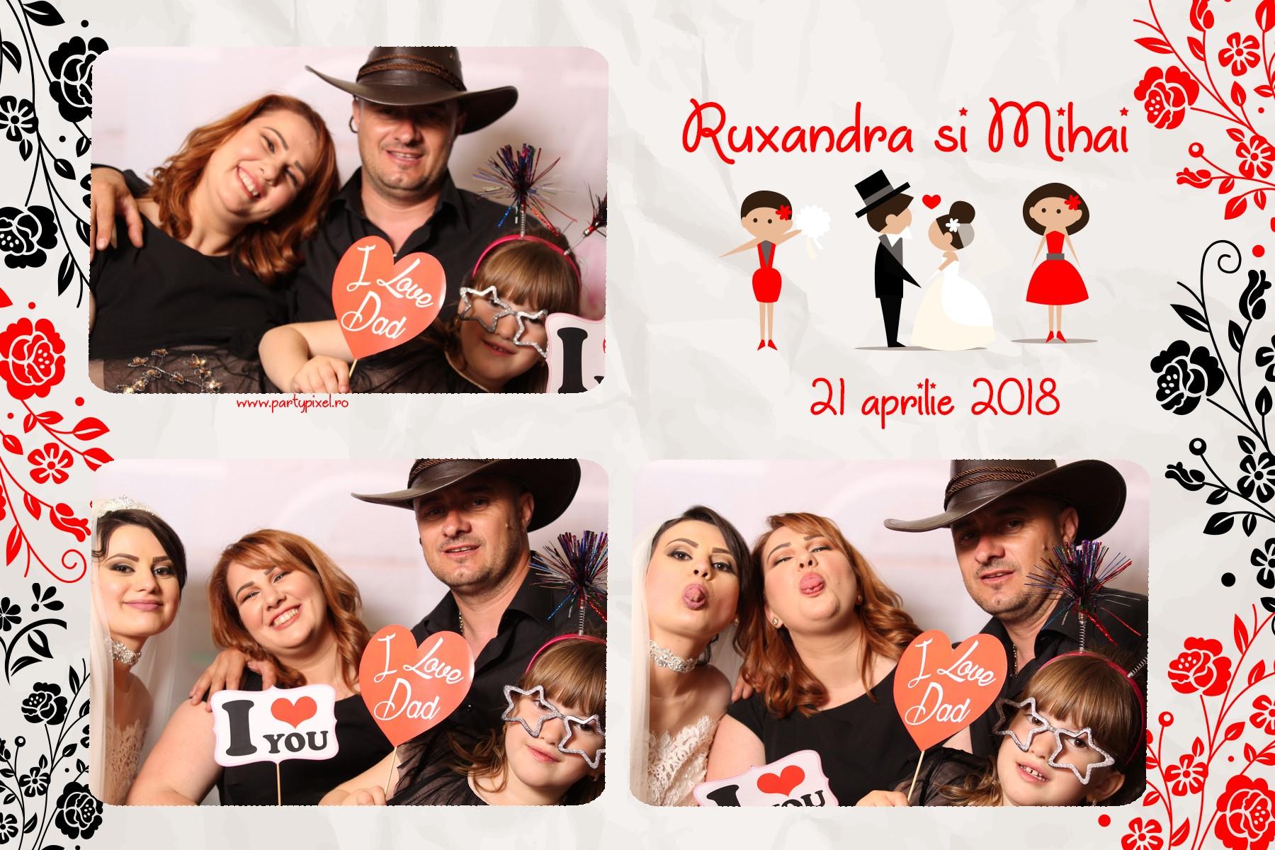 Photo Booth nunta Ruxanda si Mihai