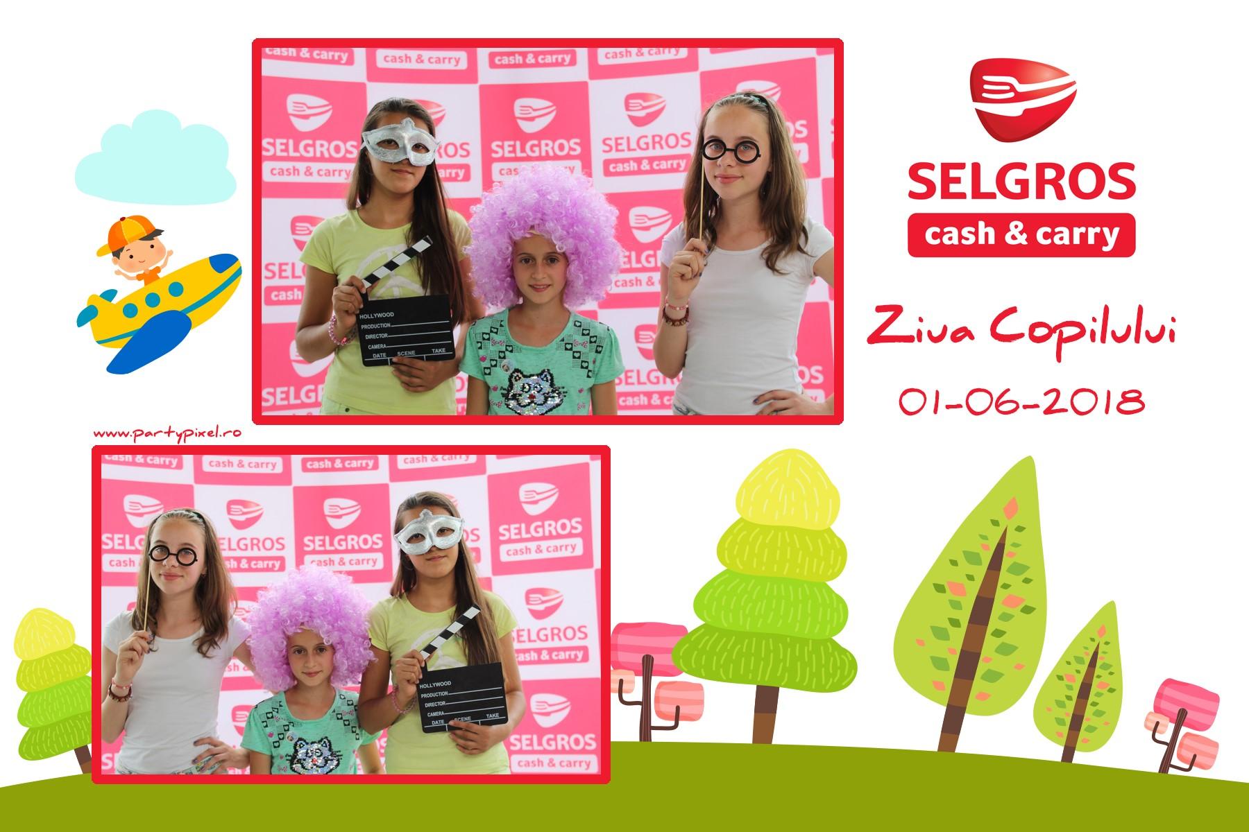 Cabina foto petrecere Selgros