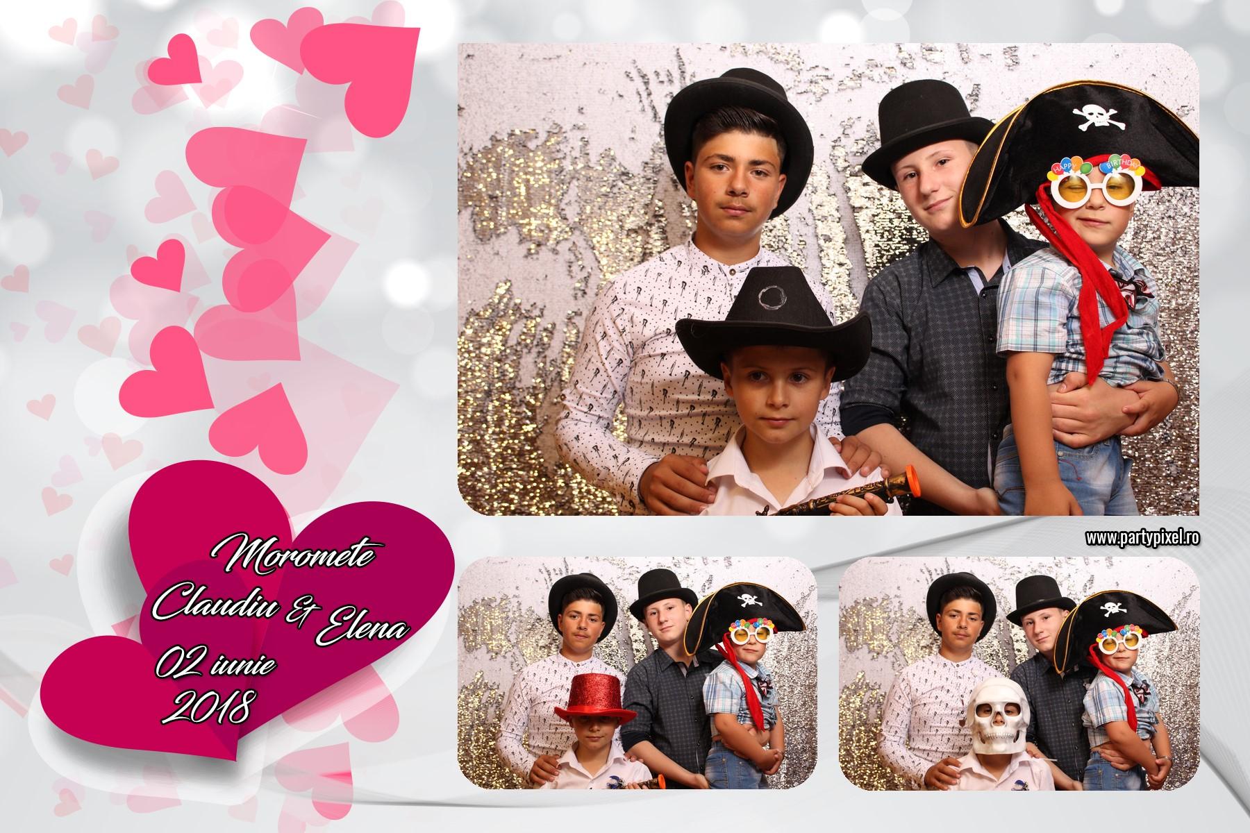 Cabina foto nunta Claudiu si Elena