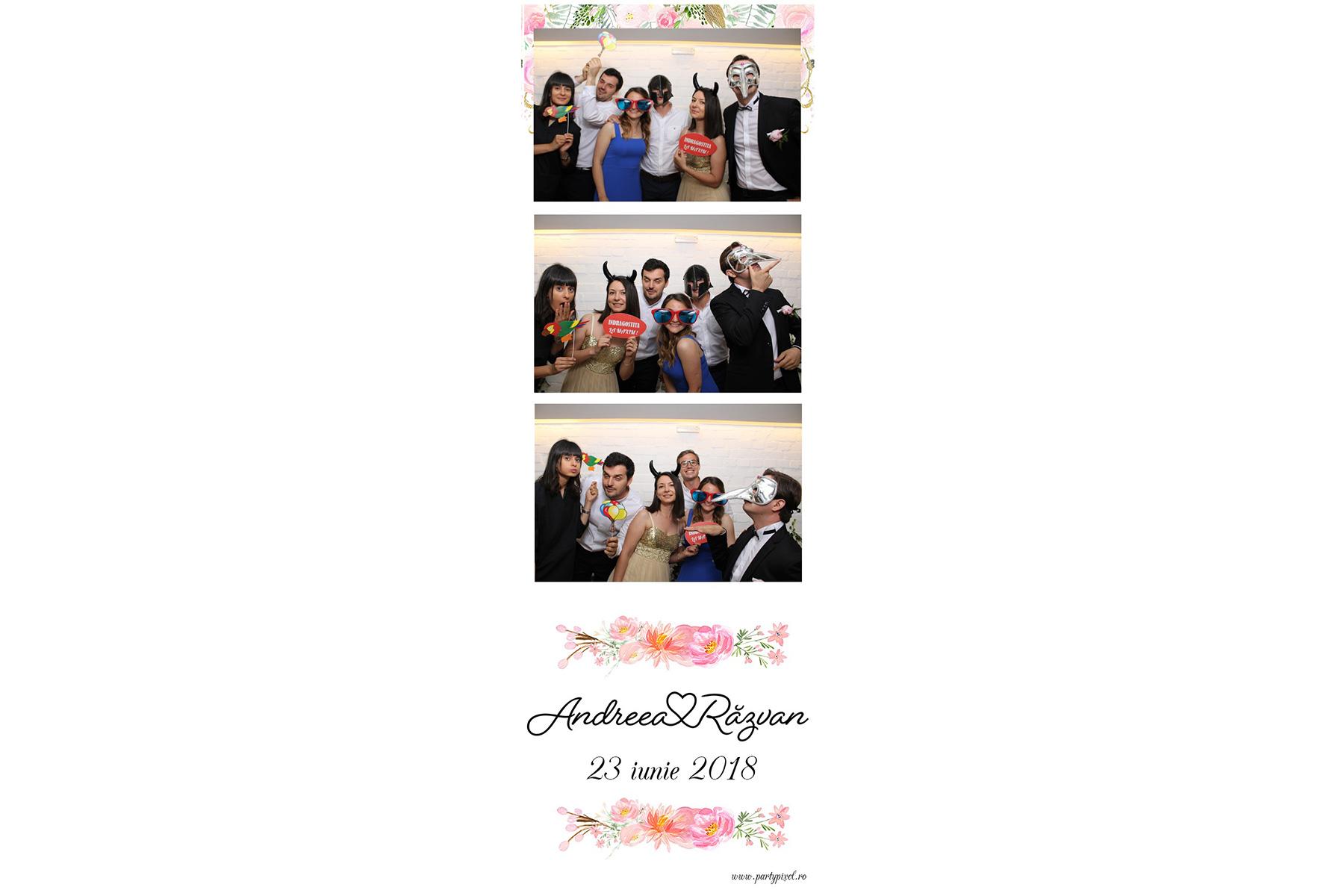 Cabina foto nunta Andreea si Razvan
