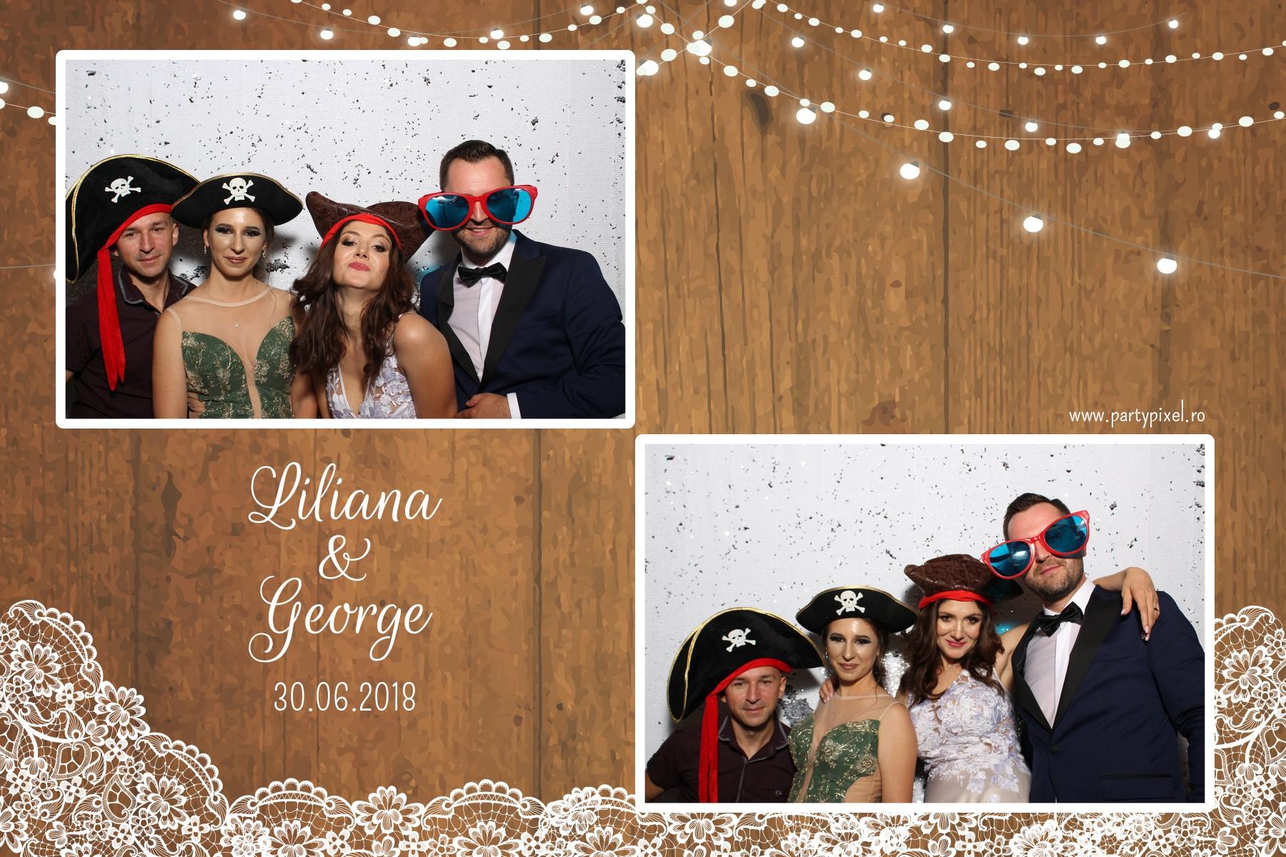 Cabina foto nuntaLiliana si George