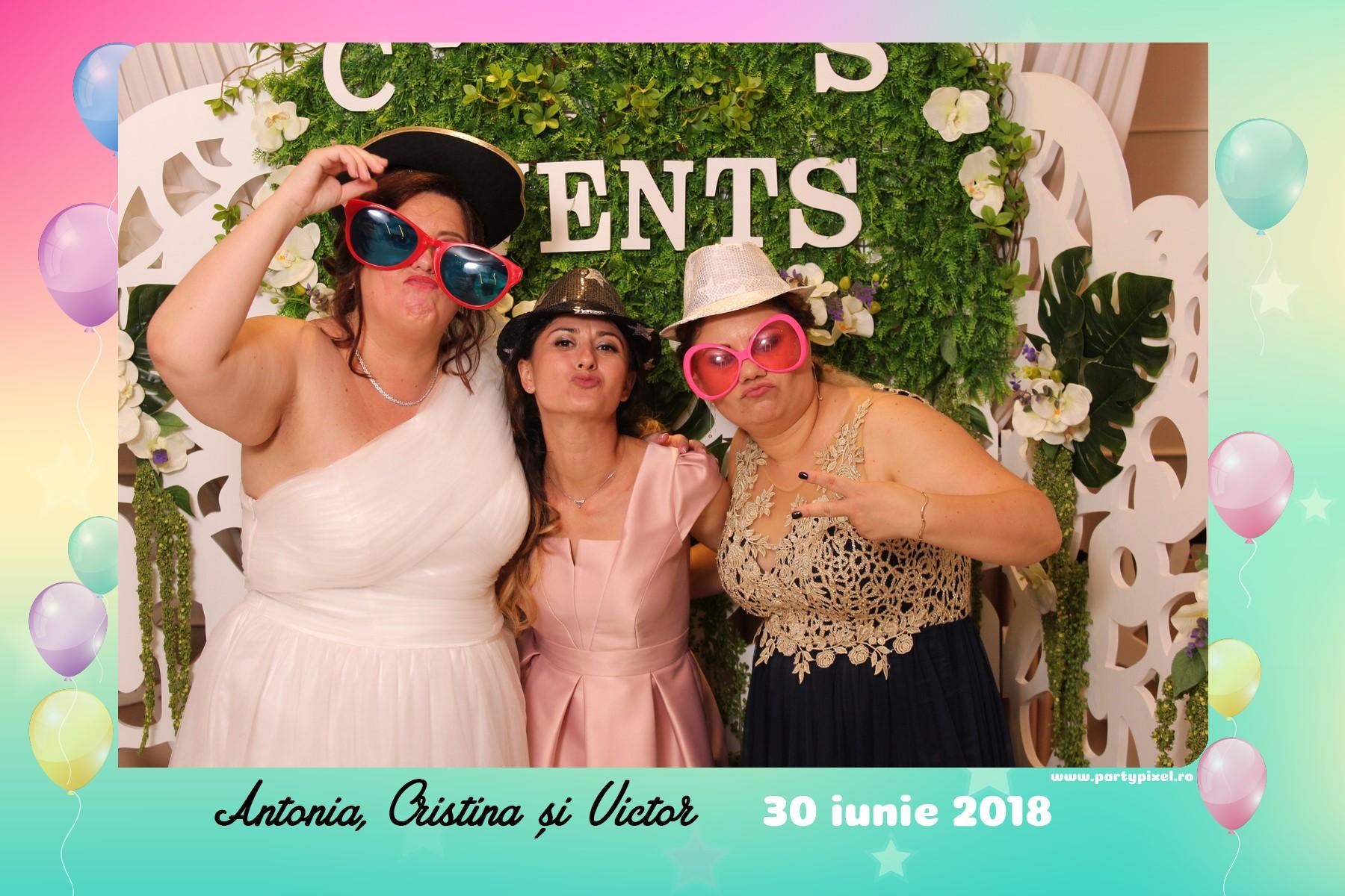 Cabina foto nunta Cristina si Victor