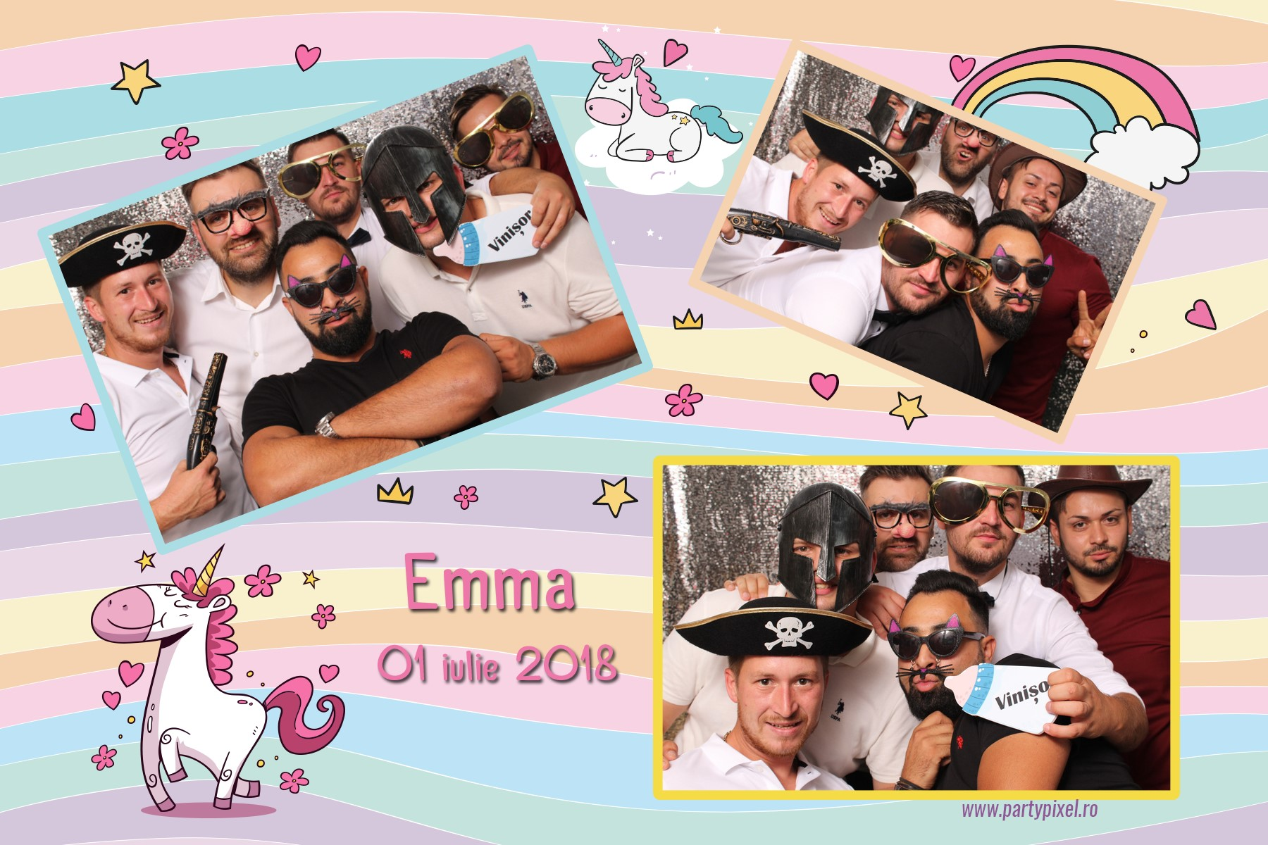 Cabina foto botez Emma