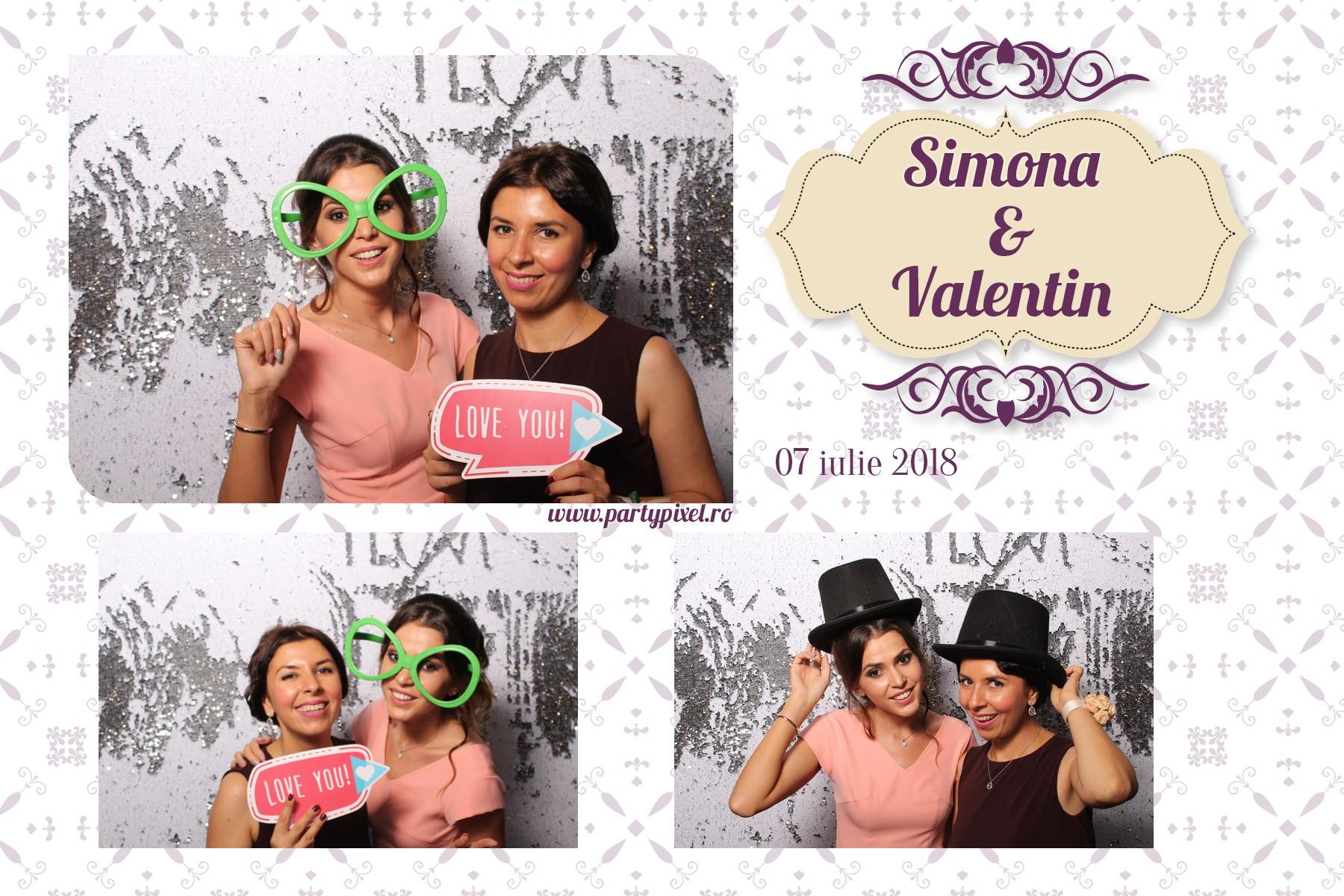 Cabina foto nunta Simona si Valentin