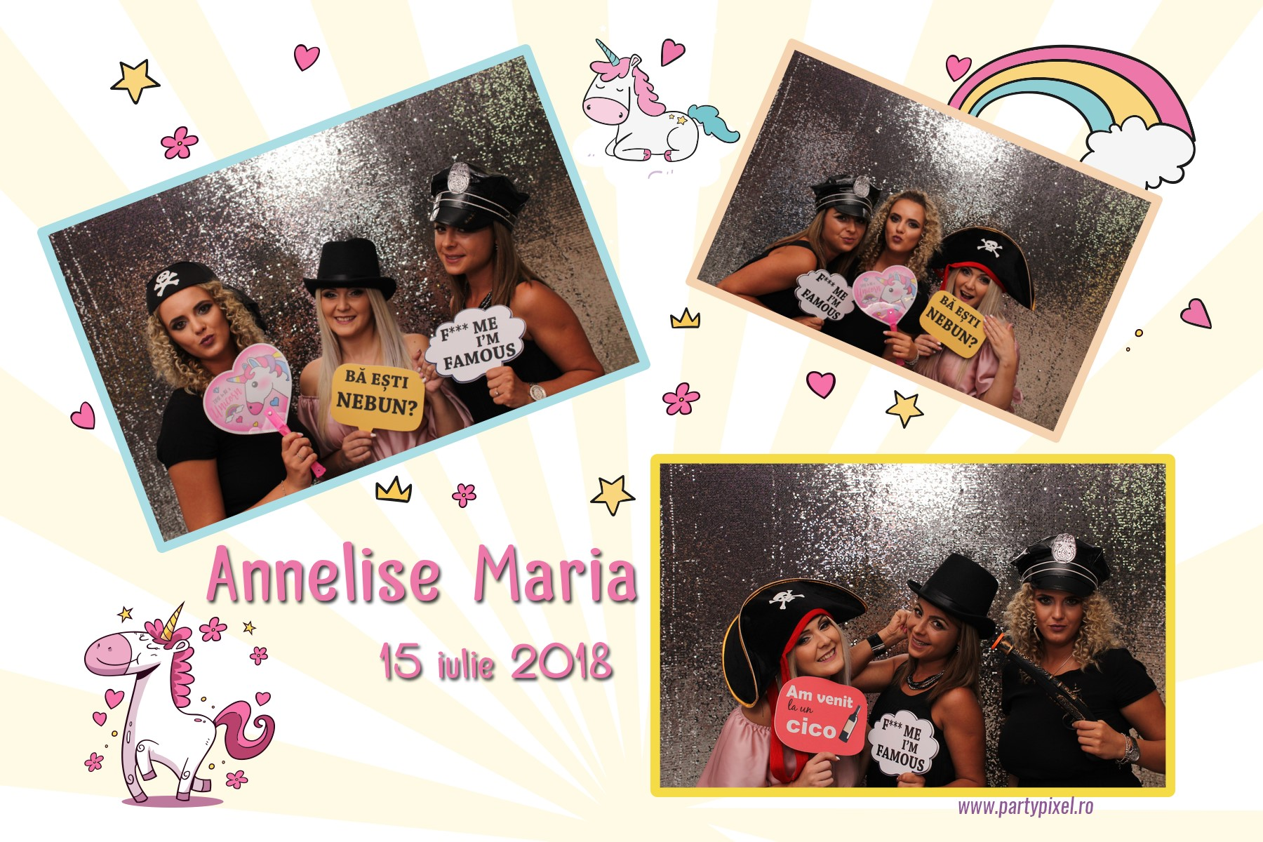 Cabina foto botez Annelise Amria