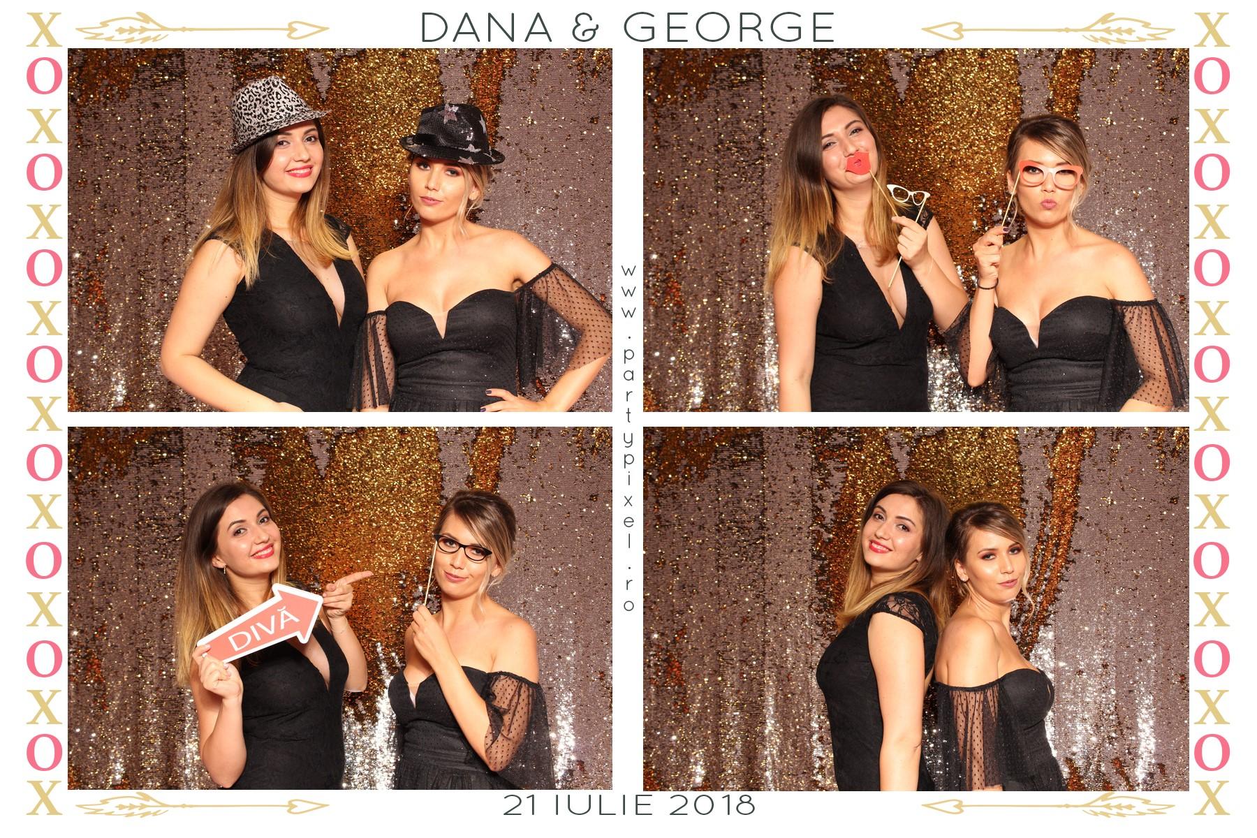 Cabina foto nunta Dana si George