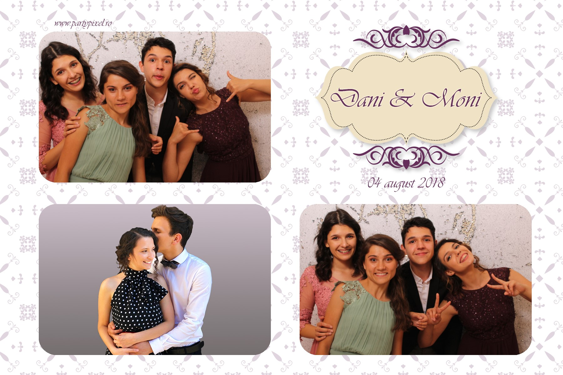 Cabina foto nunta Dani si Moni