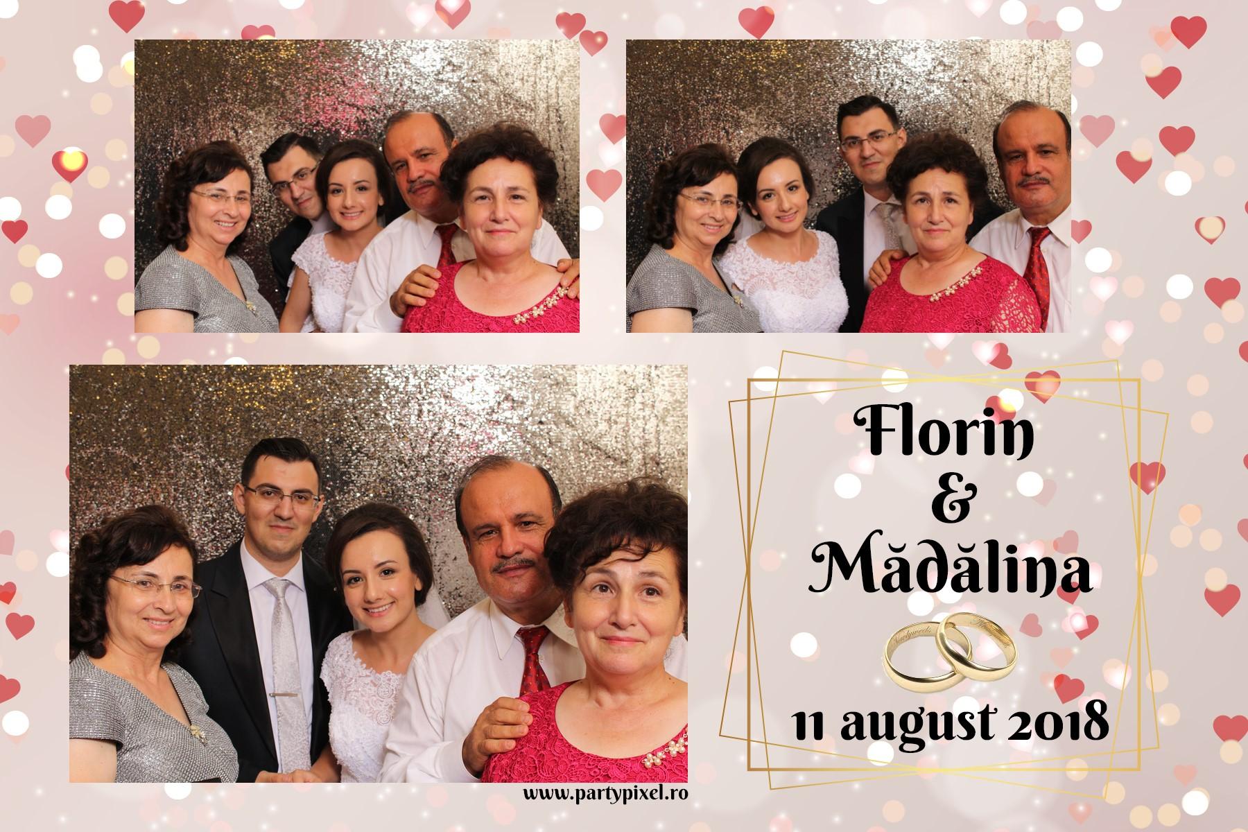 Cabina foto nunta Florin si Madalina