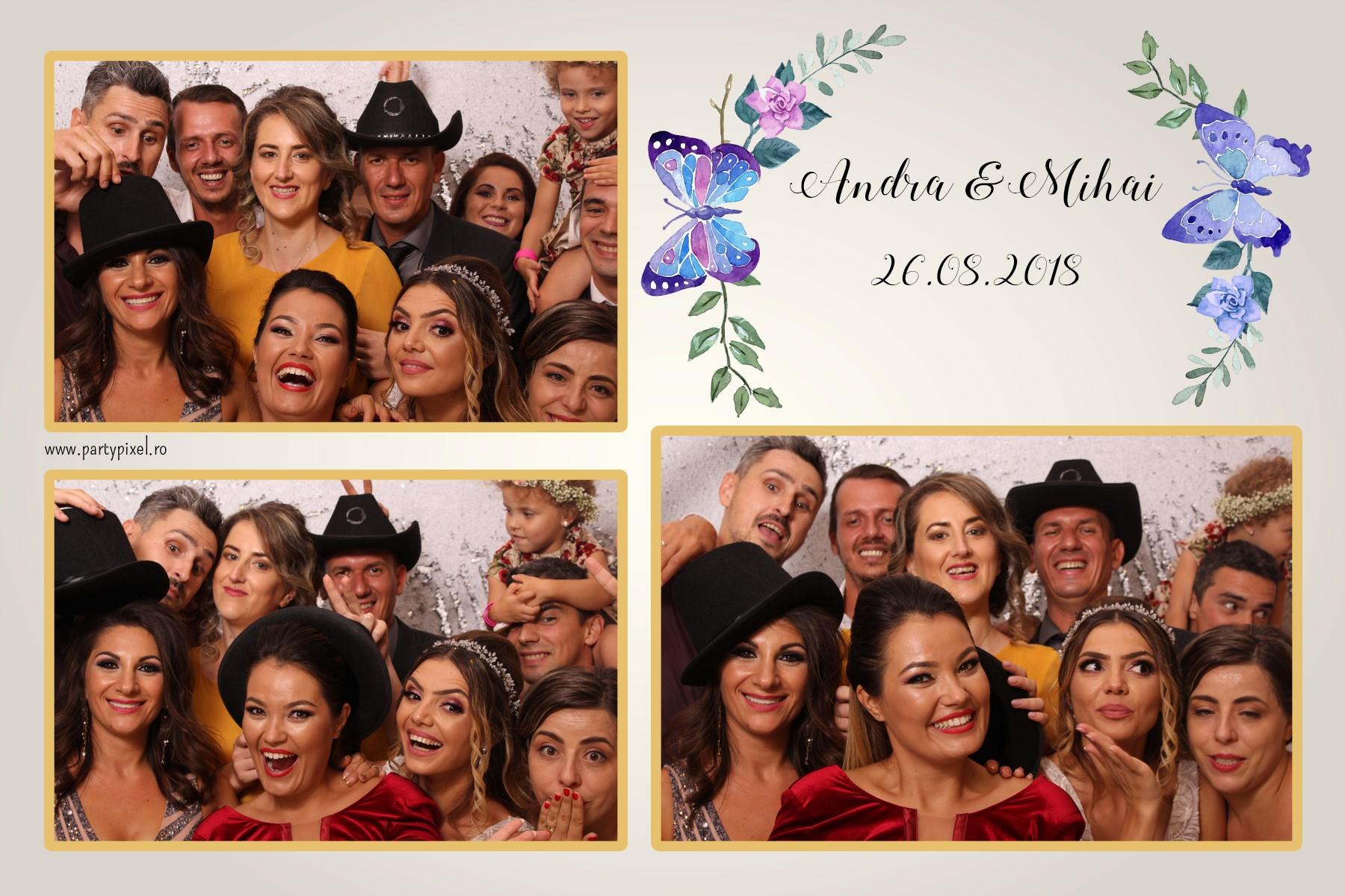 Cabina foto nunta Andra si Mihai