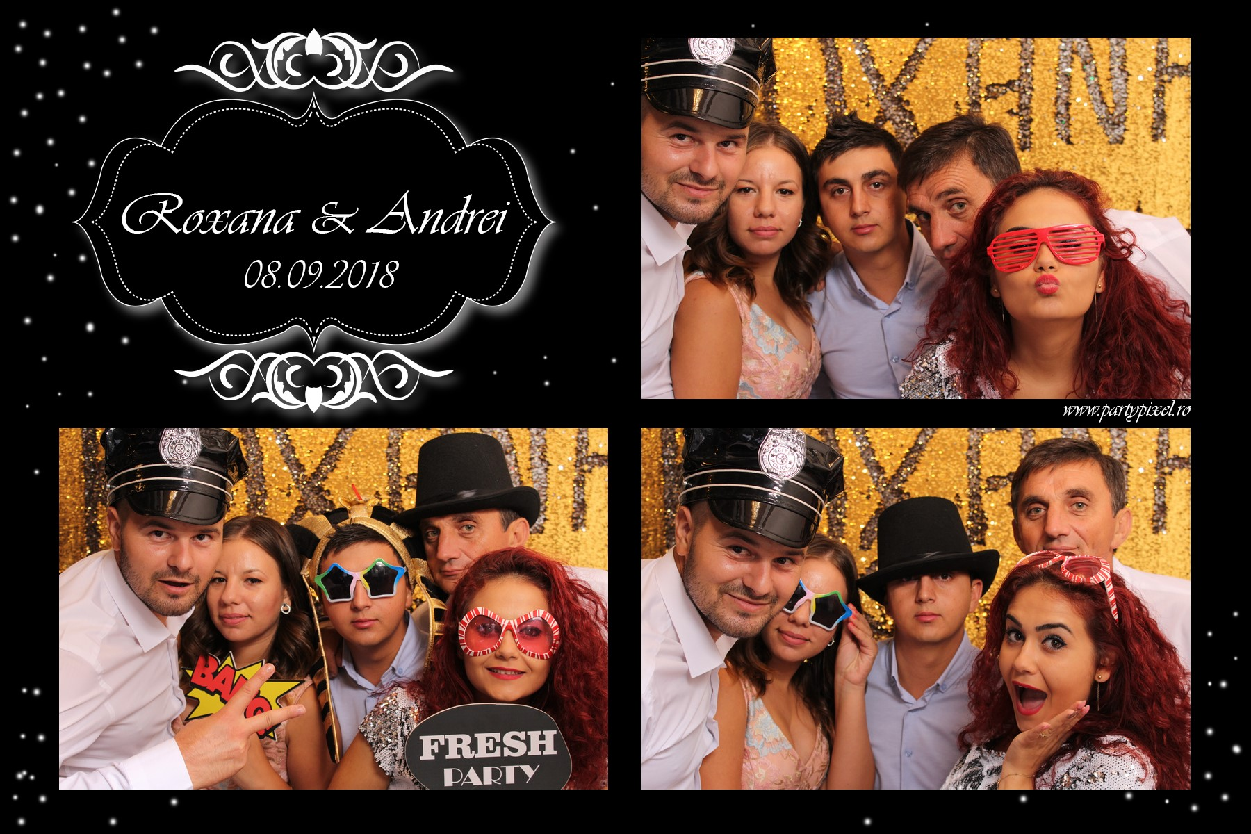 Cabina foto nunta Roxana si Andrei