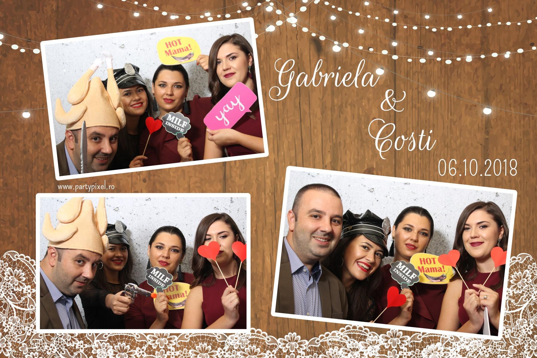 Cabina Foto Nunta Gabriela si Costi